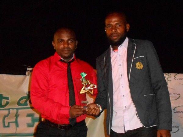 Mahamoud ''Lacatus'' Meilleur portier des Comores 2014