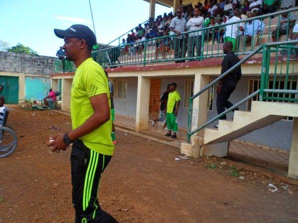 D1 : Volcan club sans Aymane à Ikoni